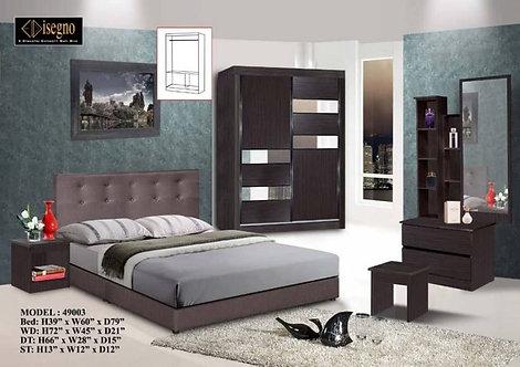 Edisegno 49003 Queen/King Bedroom Set