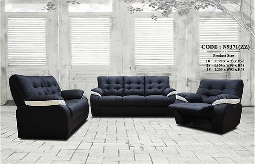 MX-N9371 Cowhide Leather 3 Seater Sofa
