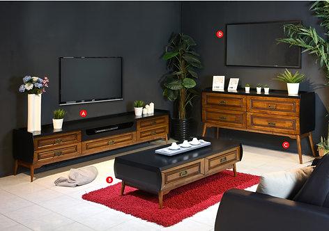Romeo 3in1 Living Room Set