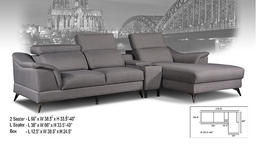 MX(2009) L-Shape Sofa