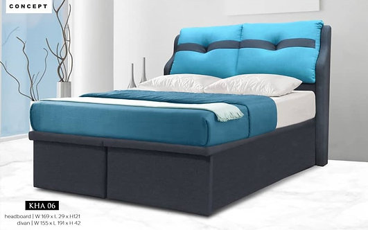 MX06 Queen/King Storage Bed Frame