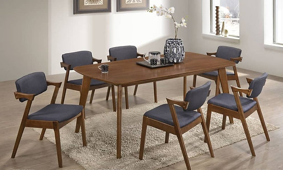 Cardencia (6ft) 6 Seater Dining Set