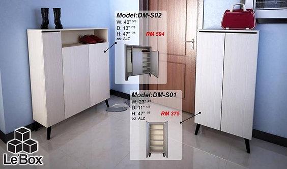 Le'box DMS02 3 Doors Shoes Cabinet