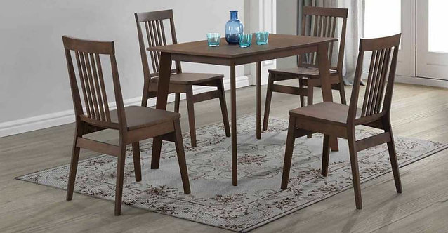 Mahagony(S) 4 Seater Dining Set