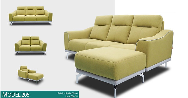 MX(206) 3 Seater Sofa