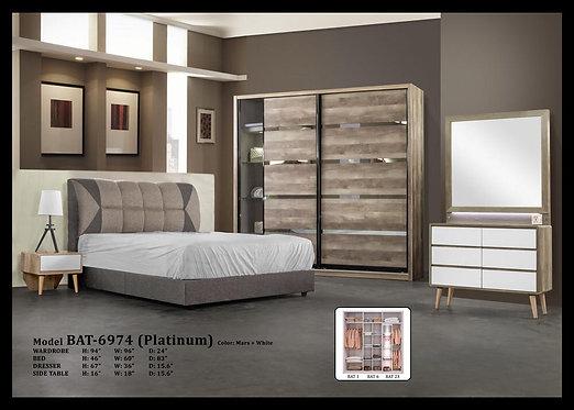 BAT6974 Queen/King Bedroom Set
