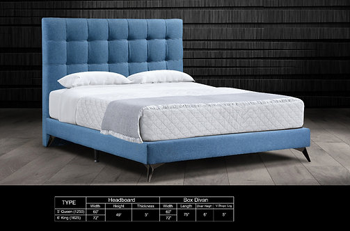 MX-802 Queen/King Bed Frame