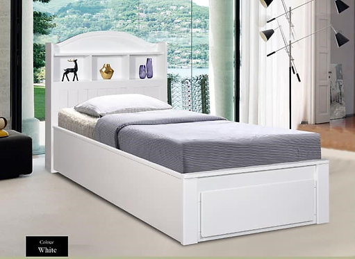 MX6238 Single Bed Frame With Drawers