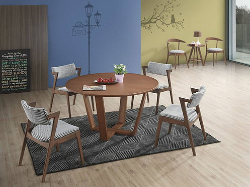 Houndstooth 4 Seater Dining Set