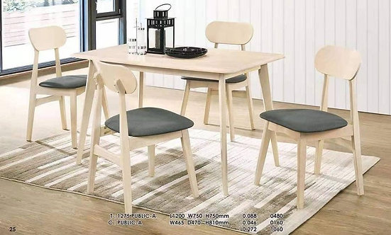 Publica 4 Seater Dining Set