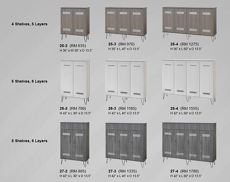 Fomez Shoes Cabinet Series