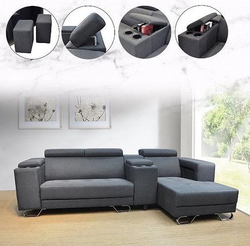 MX(6512) L-Shape Sofa