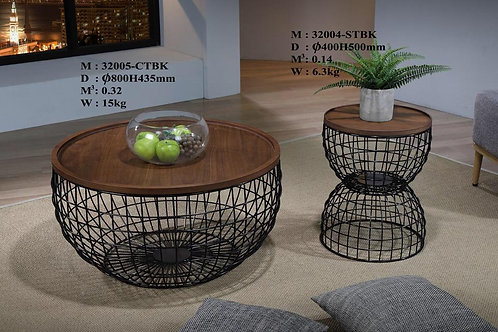 Pineapple 2in1 Coffee Table Set
