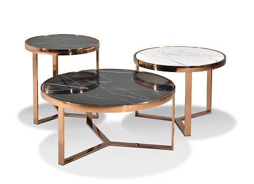 Rose Gold 3in1 Coffee Table