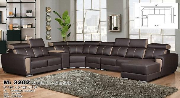 MX-3202 Corner Sofa