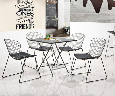Paloma 4 Seater Dining Set