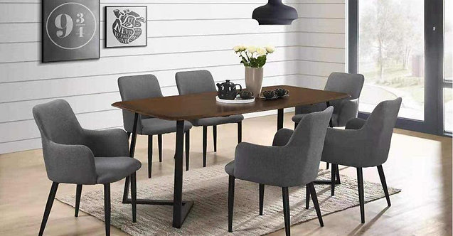 Titus 6 Seater Dining Chair