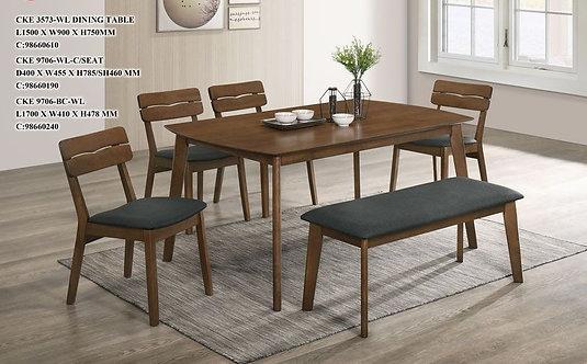CKE(9706) 6 Seater Dining Set