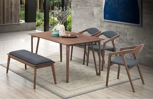 Mayber(SC) 6 Seater Dining Set