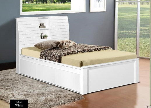 MX6323 Single Bed Frame With Drawers