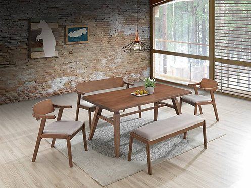 Nornan 6 Seater Dining Set