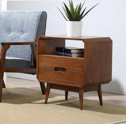 Mocha Side Table