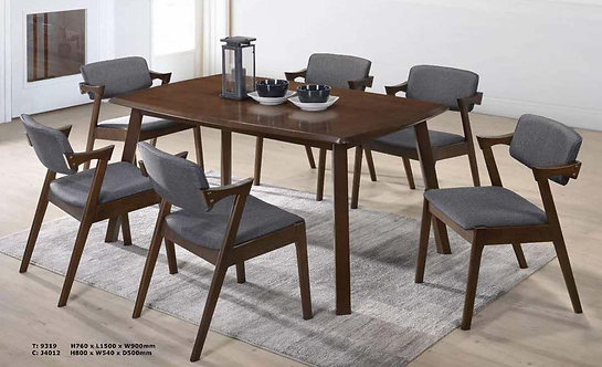 Cardencia 6 Seater Dining Set