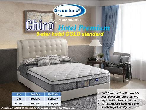 Dreamland 5 Star Premium Mattress