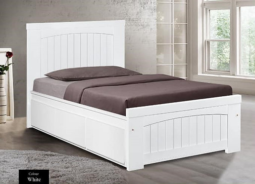 MX9313 Single Bed Frame With Drawers