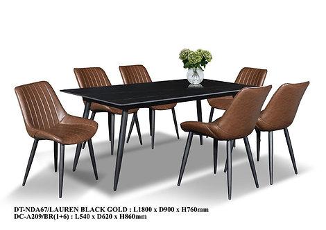 MX(A67F) Ceramic Dining Table