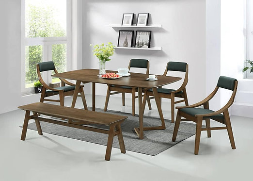 MX(M40G) 6 Seater Dining Set