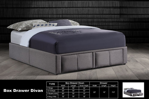 MX(2D) Queen/King Bed Frame With Drawers