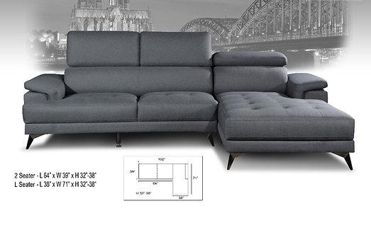 MX(2008-S) L-Shape Sofa