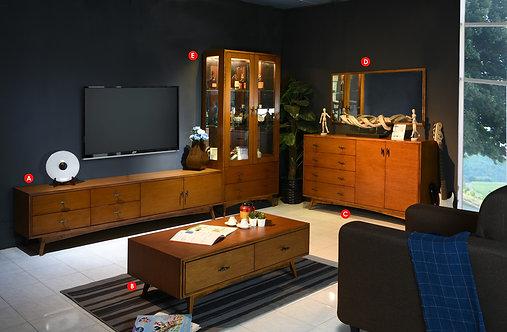 Quintus 4in1 Living Room Set