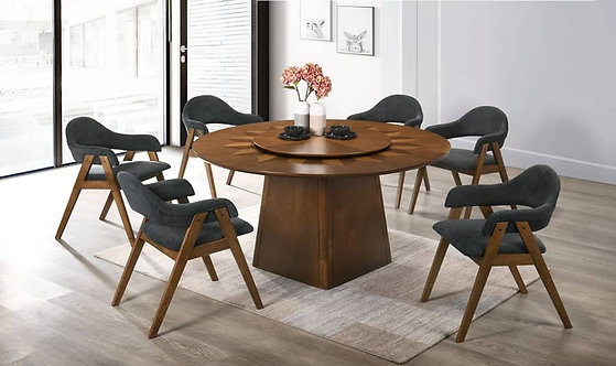 Cannes(R) 6 Seater Round Dining Set