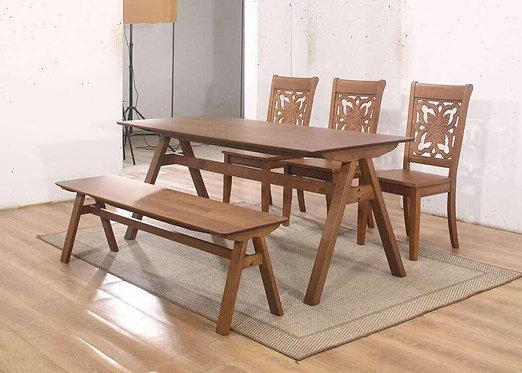 Anggur B 6 Seater Dining Set