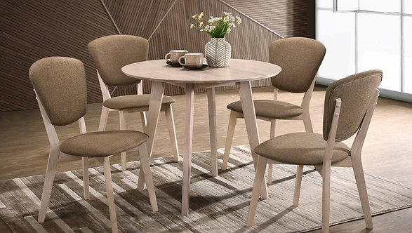 Givina 4 Seater Dining Set