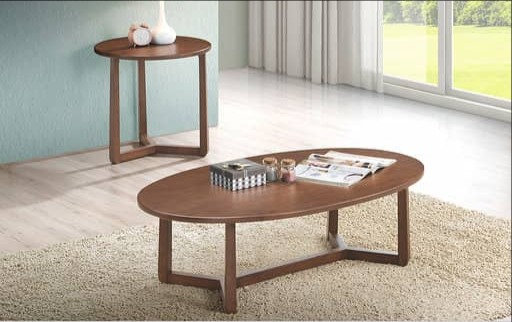 Osaka(Oval) 2in1 Coffee Table Set