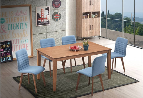 Lucia (R) 6 Seater Dining Set