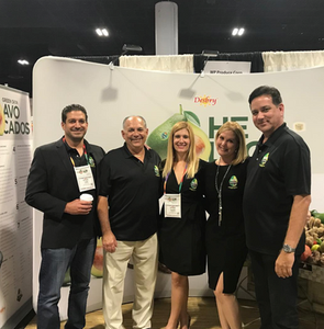 WP Produce team promoting Desby brand tropical produce at the SEP Southern Exposure Conference