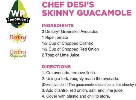 our Famous guacamole recipe #chefdesiskinnyguacamole #gettingreadyforcincodemayo #greenskiN