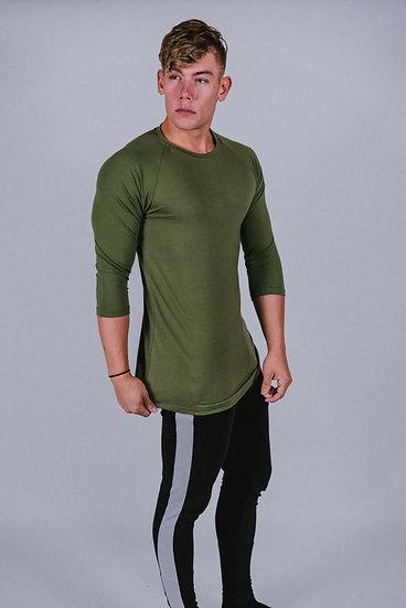 "Legacy ""Olive Green"" 3/4 Sleeve Shirt"