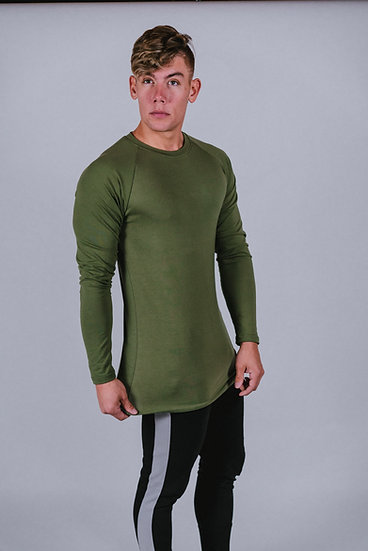 "Legacy ""Olive Green"" Long Sleeve Shirt"