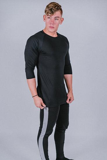 "Legacy ""Black"" 3/4 Sleeve Shirt"