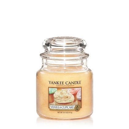 Vanilla Cupcake (Candela in giara media)