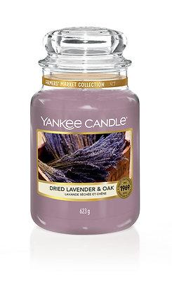 Dried Lavender & Oak (Candela in giara grande)