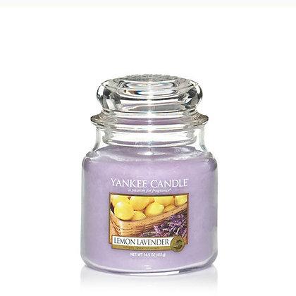 Lemon Lavender (Candela in giara media)