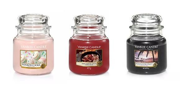 Set 3 giare medie: Rainbow Cookie - Crisp Campfire Apples - Black Coconut