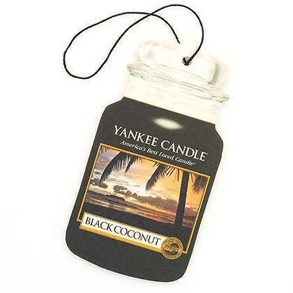 Black Coconut Car Jar® (Singolo)