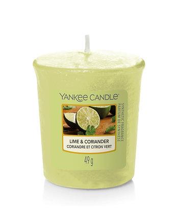Lime & Coriander - Candele votive Samplers®